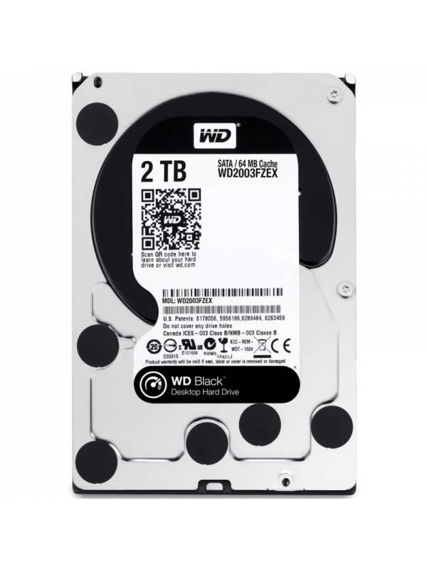 DISCO 3.5   2TB WD SATA3 BLAC K