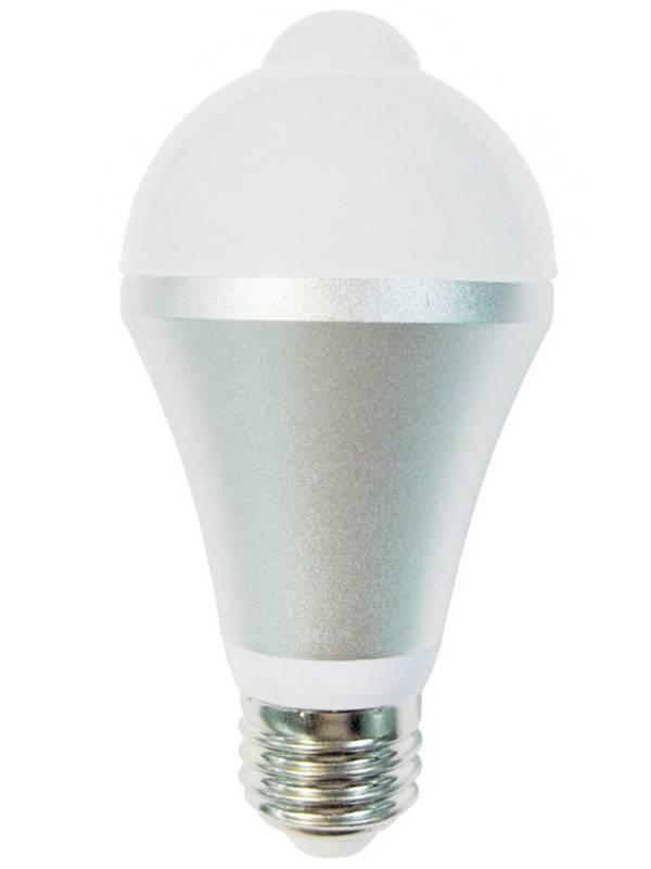 BOMBILLA LED E27 2700W  6W MOT ION SENSOR DE MOVIMIENTO