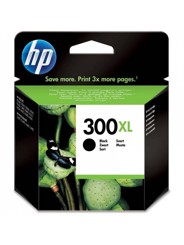 CARTUCHO HP CC641EE 300XL NEGR O