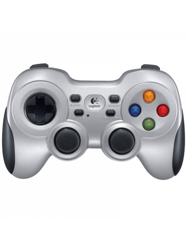 GAMEPAD WIRELESS LOGITECH F710  PLATA
