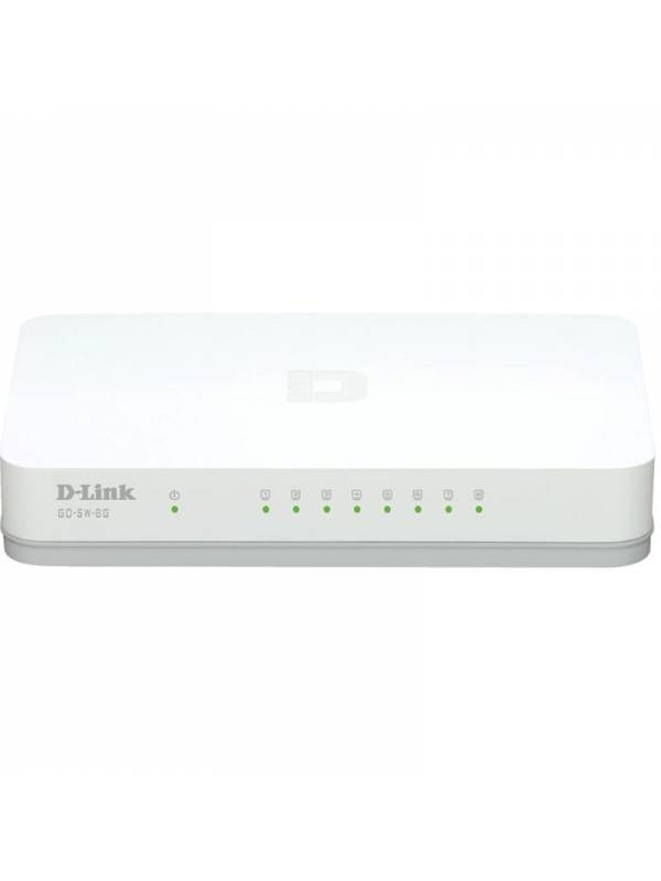 SWITCH GIGA  8PTOS DLINK GO-SW -8G