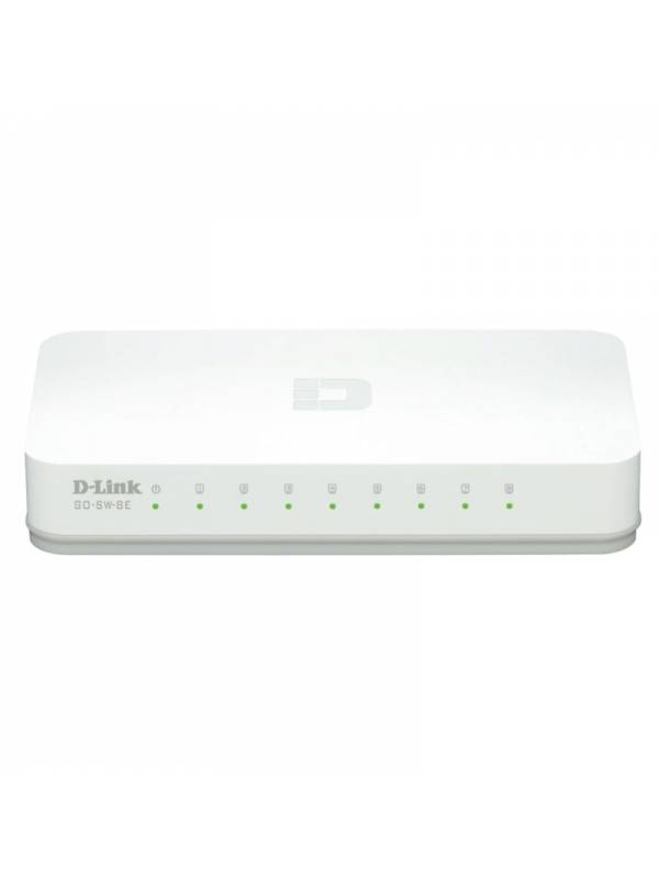 SWITCH 100   8PTOS DLINK GO-SW -8E