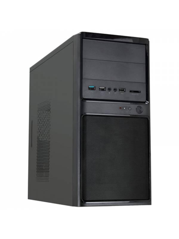 CAJA MICRO ATX UK-6012 NEGRA   USB 3.0 CONFUENTE 85%