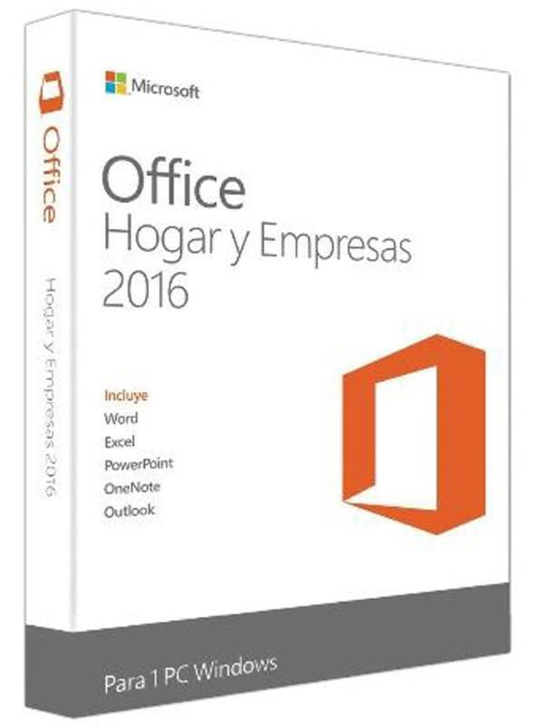OFFICE 2016 HOGAR Y EMPRESA