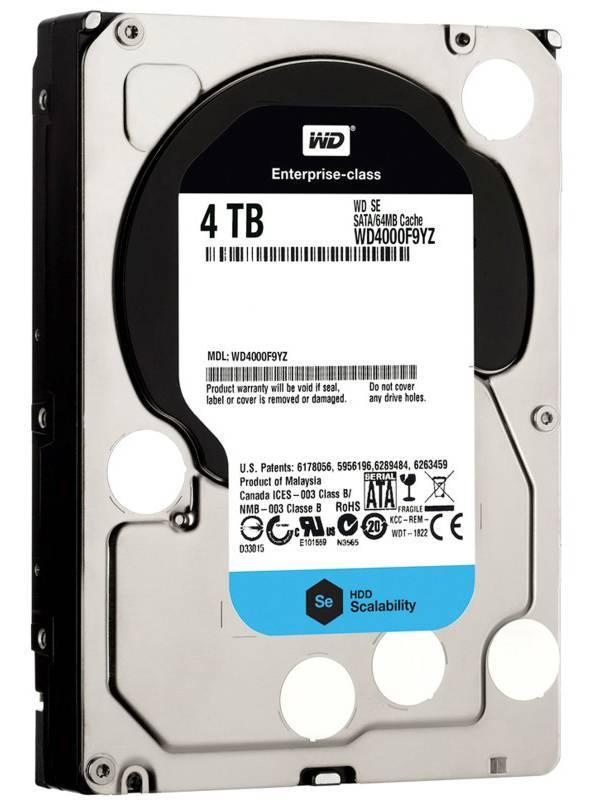 DISCO 3.5   4TB WD SATA3 SE
