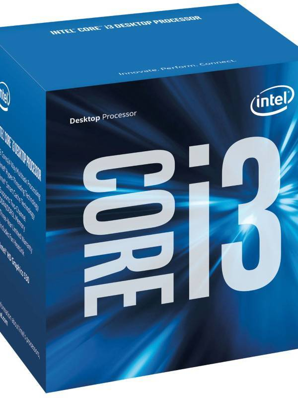 CPU INTEL S-1151 CORE I3-6100  3.7GHZ BOX