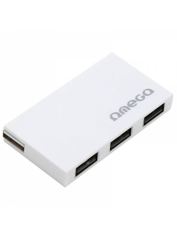 HUB 4 PTOS USB 2.0 OMEGA BLANC O