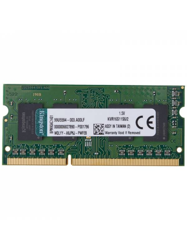 SODIMM DDR3 2GB1333 KINGSTON  MHz