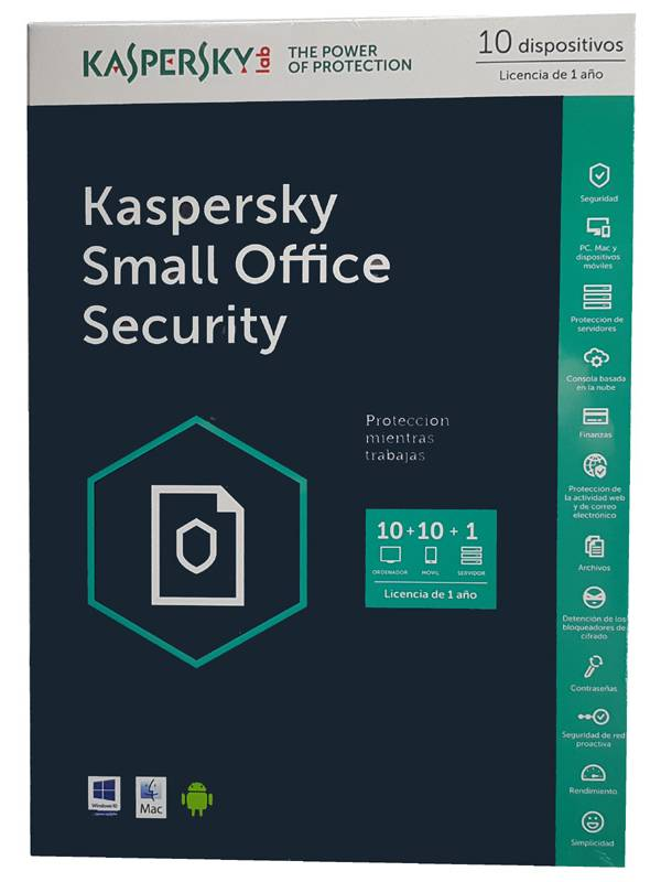ANTIV.10LC KASPERSKY SMALL OF  FICE SECURITY 2017