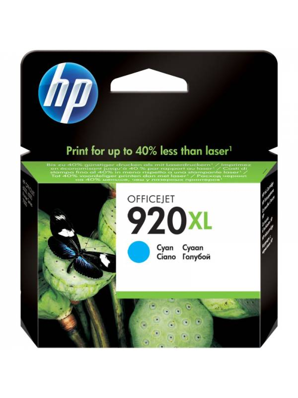 CARTUCHO HP CD972AE 920XL CYAN