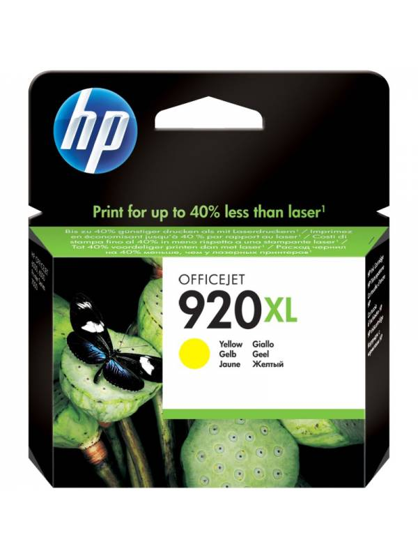 CARTUCHO HP CD974AE 920XL AMAR ILLO