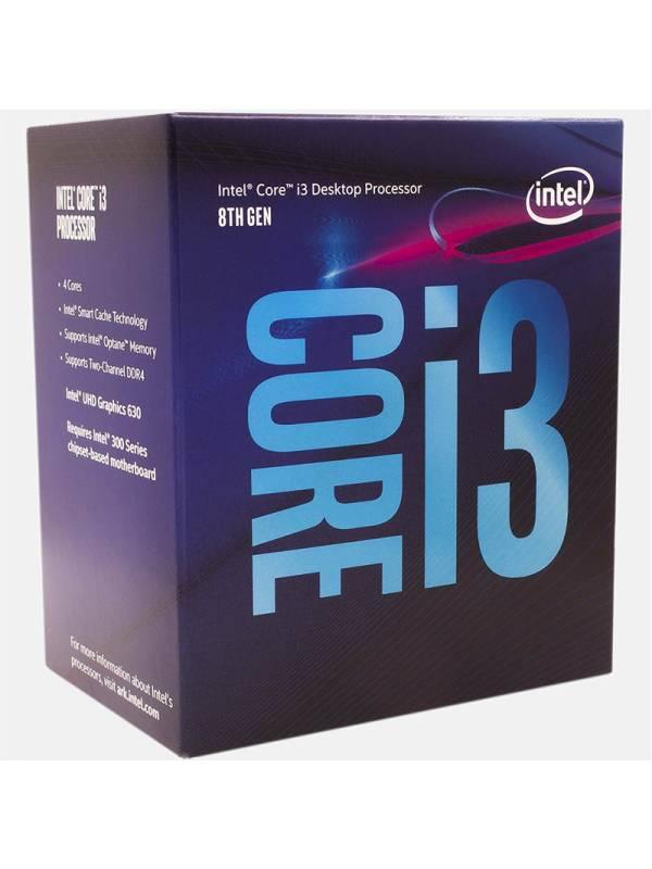 CPU INTEL S-1151 CORE I3-8100  3.6GHZ BOX