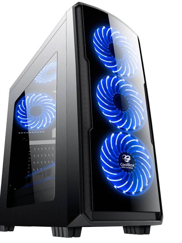 PC GDX GAMING PRO I575811 I5-7 500 8GB 120+1TB GTX1060 3GB
