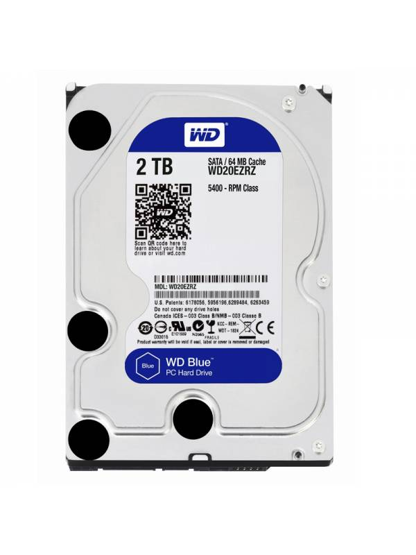 DISCO 3.5   2TB WD SATA3 BLUE
