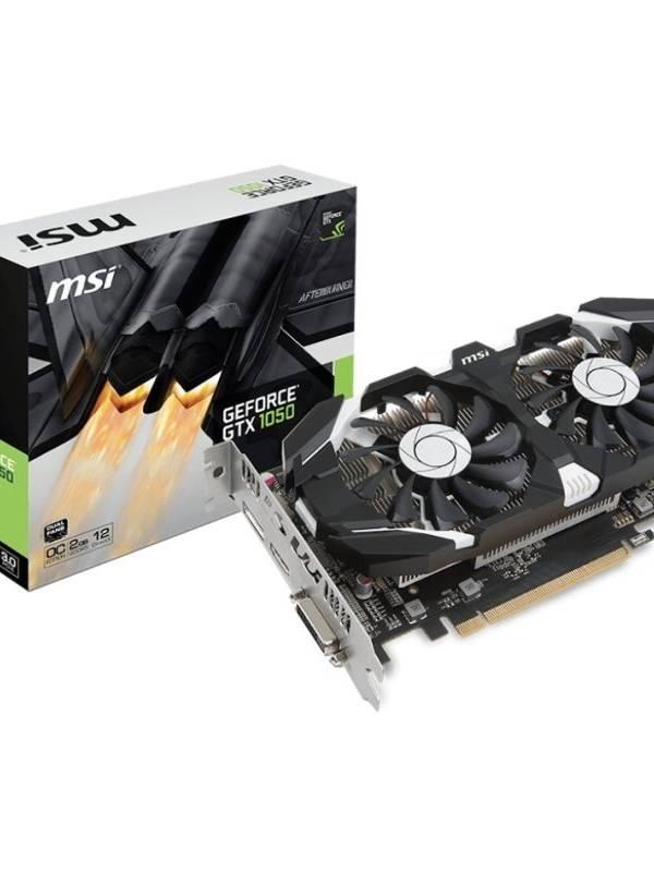 VGA GEFORCE  2GB GTX 1050OC   PCIEX GDDR5 MSI