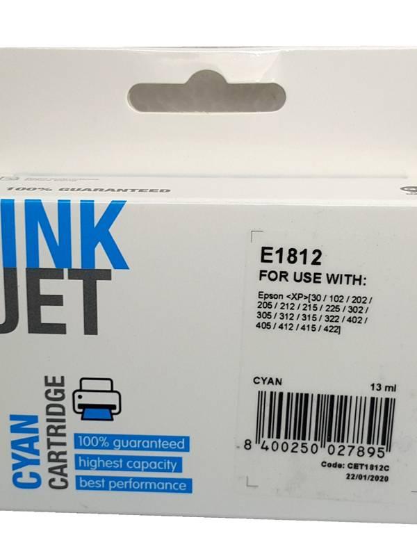 CARTUCHO INK EPSON T1812 XL CI AN
