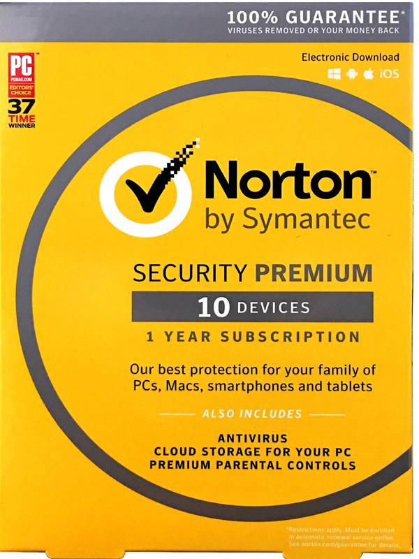 AV IS. 10LC NORTON SECURITY PR EMIUM