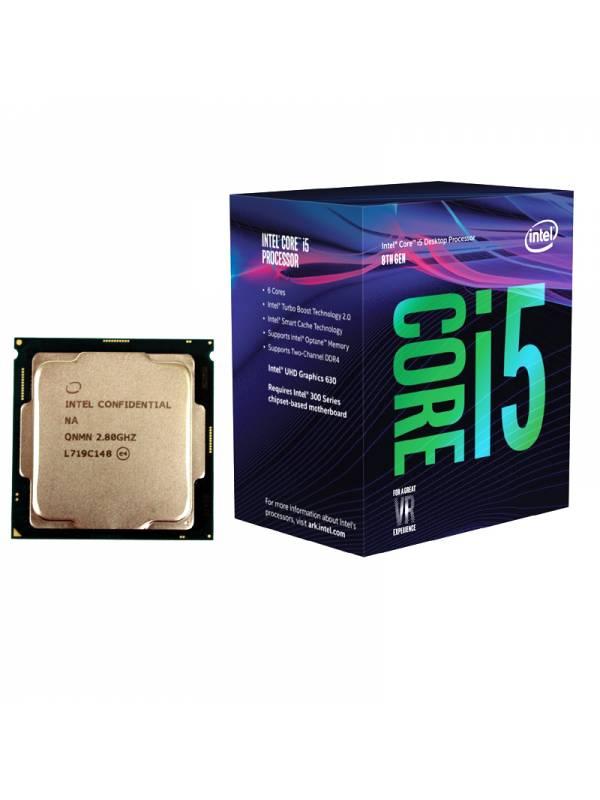 CPU INTEL S-1151 CORE I5-8400  2.8GHZ BOX