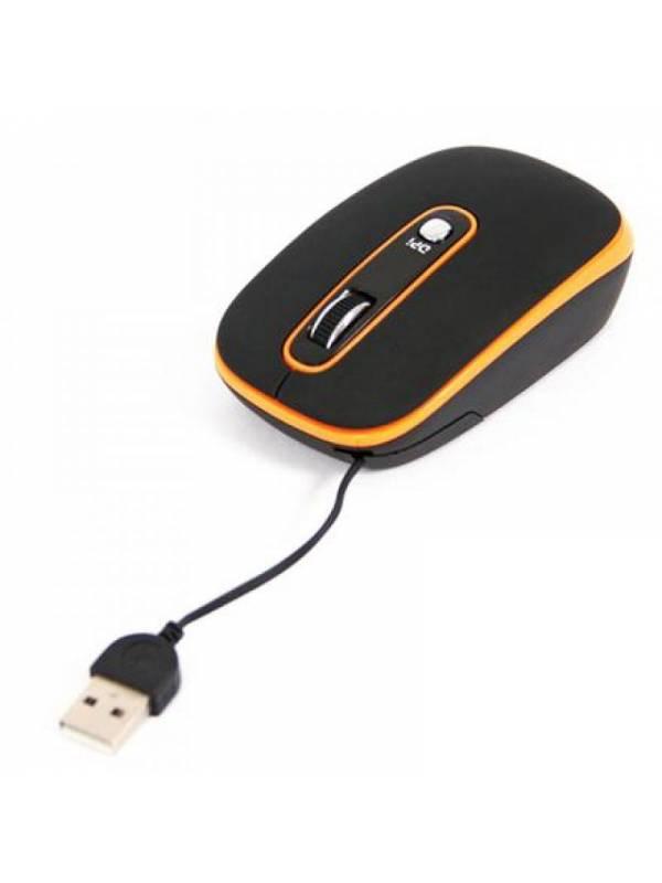 RATON USB RETRA. OMEGA NEGRON ARANJA 1200DPI