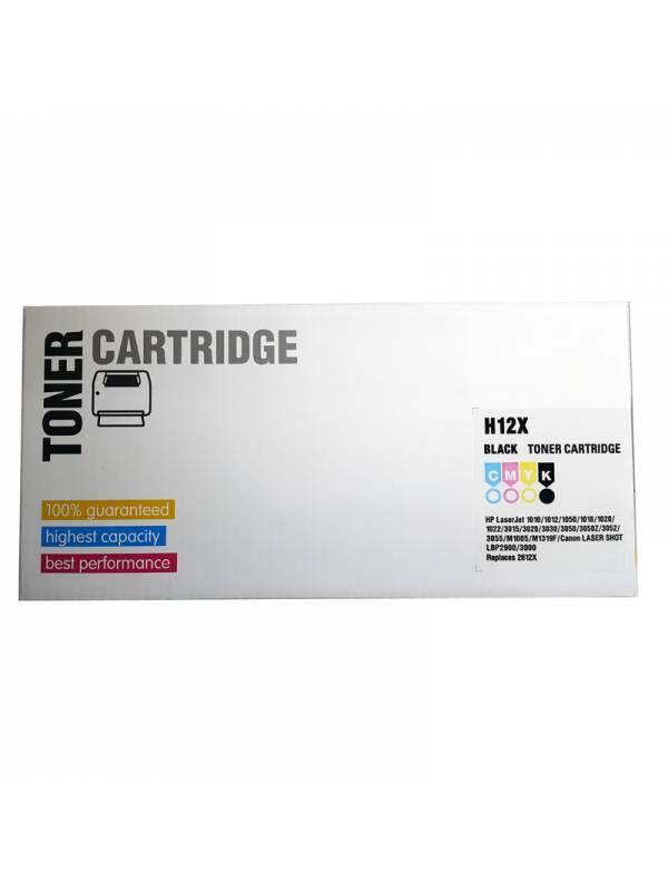 TONER INK HP Q2612X H12X NEGRO