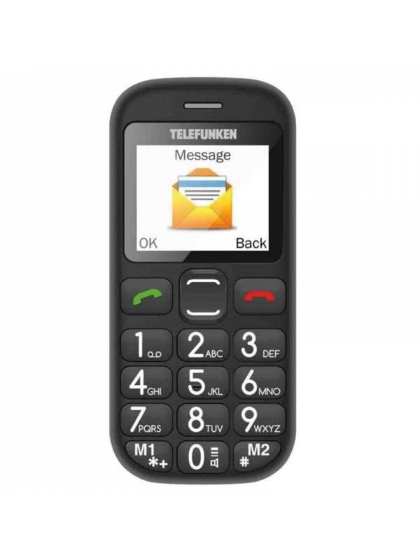 MOVIL 1.77 TELEFUNKEN TM110   COSI TECLAS GRANDES NEGRO