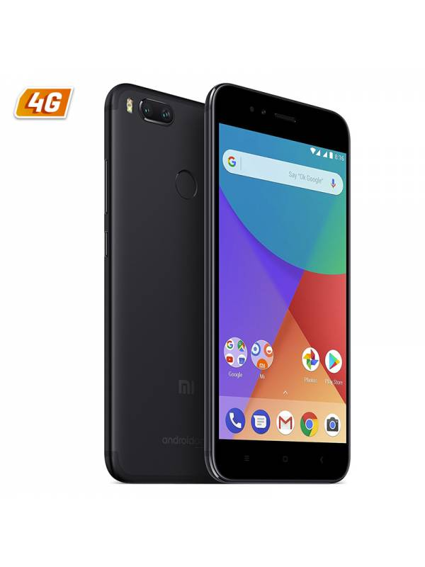 SMARTPHONE 5.5 XIAOMI MI A1   DS 4G 4GB/32GB ANDROID 7 NEGRO