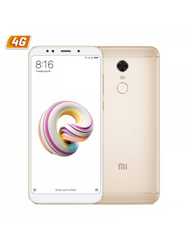 SMARTPHONE 5.99 XIAOMI REDMI  5 PLUS DS 4G 3GB32GB  GOLD