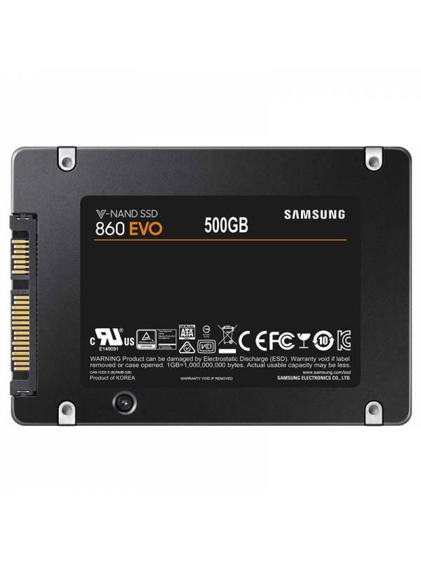 DISCO SSD  500GB SAMSUNG  SATA 3 EVO860 SIN ADAPTADOR