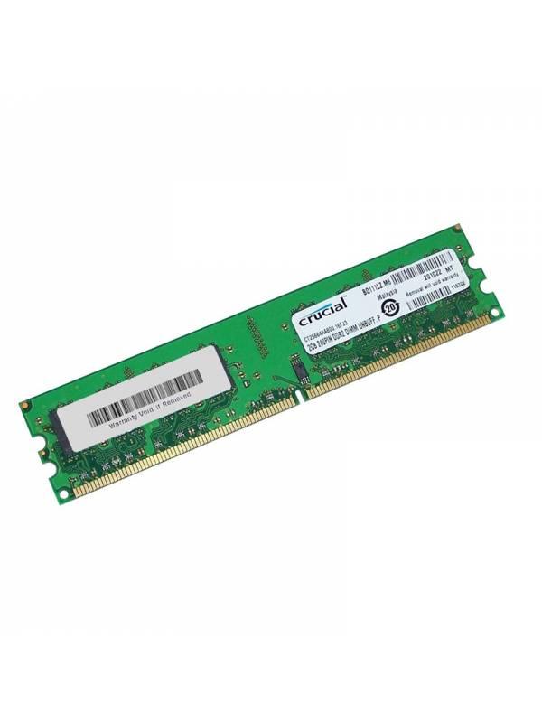 DDR2 2GB800 CRUCIAL