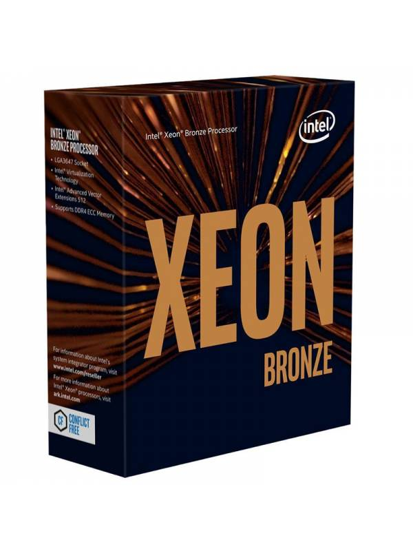CPU INTEL S-3647 XEON 3106 1.7 GHZ 8 CORE BRONZE BOX