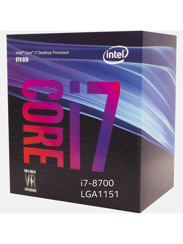 CPU INTEL S-1151 I7-8700  3.2G Hz BOX