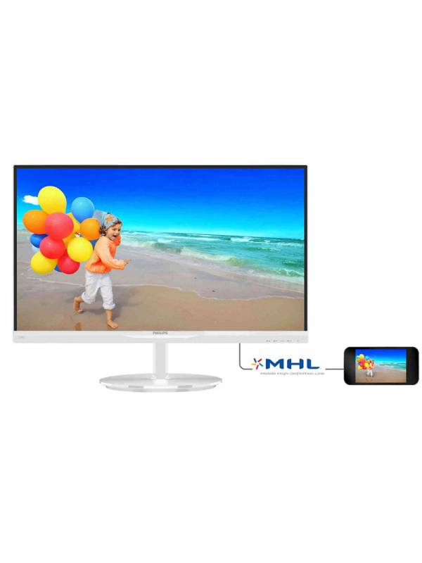 MONITOR 23 PHILIPS LED MM 234 E5QHAW00 FULL HD BLANCO