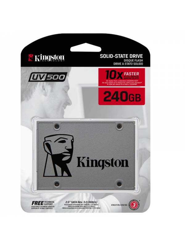 DISCO SSD  240GB KINGSTON SATA 3 SIN ADAPTADOR SUV500240G