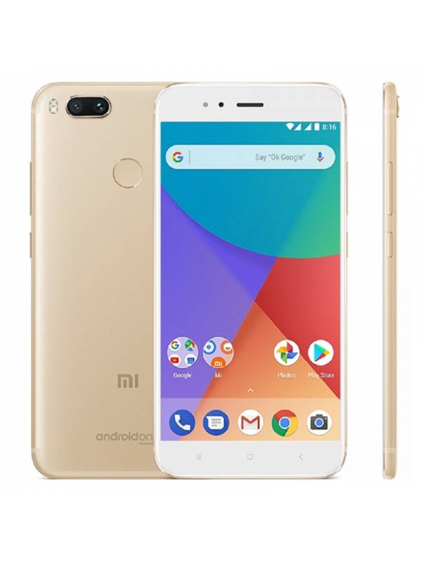 SMARTPHONE 5.5 XIAOMI MI A1   DS 4G 4GB64GB ANDROID 7 GOLD
