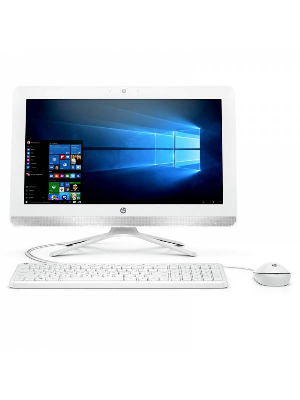 LCD PC 19.5 HP 20-C400NS E2-9 000 4GB 1TB W10 BLANCO