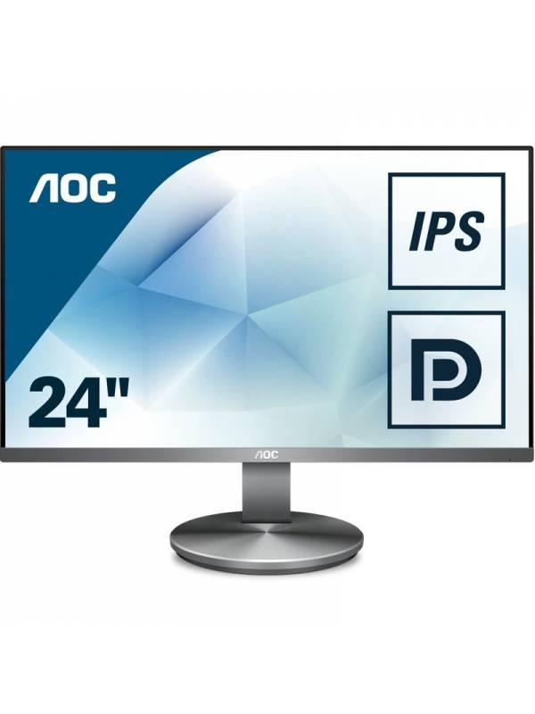 MONITOR 23.8 AOC LED MM I2490 VXQBT IPS GRIS