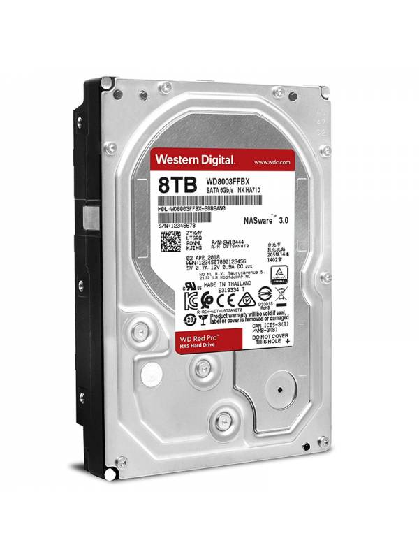DISCO 3.5   8TB WD RED PRO    CACHE 256MB