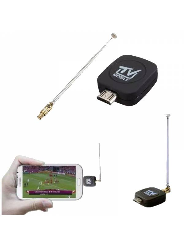 RECEPTOR PORTATIL MINI DVB-T   MICRO USB ANDROID