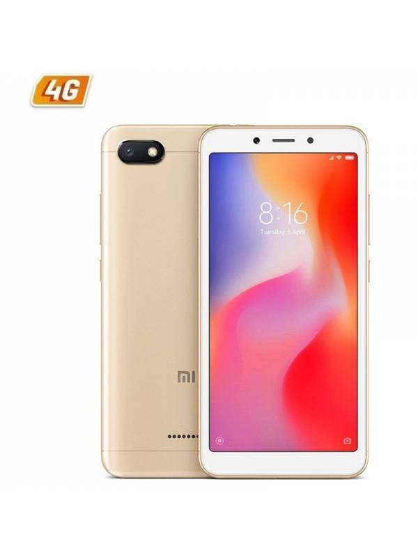 SMARTPHONE 5.45 XIAOMI REDMI  6A 2GB 16GB DS ANDROID8.1 GOLD