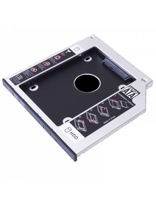 ADAPT. INT. 2.5SSD SATA PARA  PORTATIL HASTA 9mm