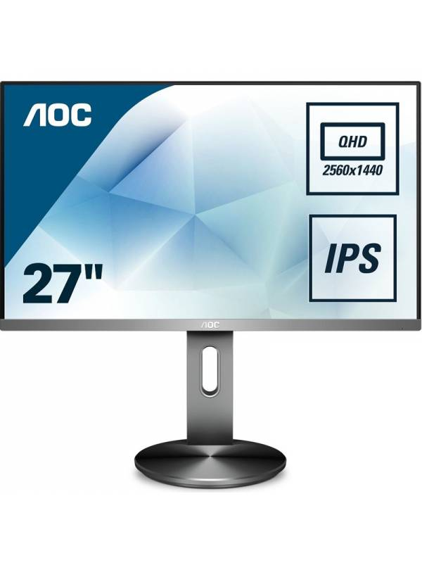 MONITOR 27   AOC LED MM Q2790 PQUBT QHD 2560X1440 NEGRO