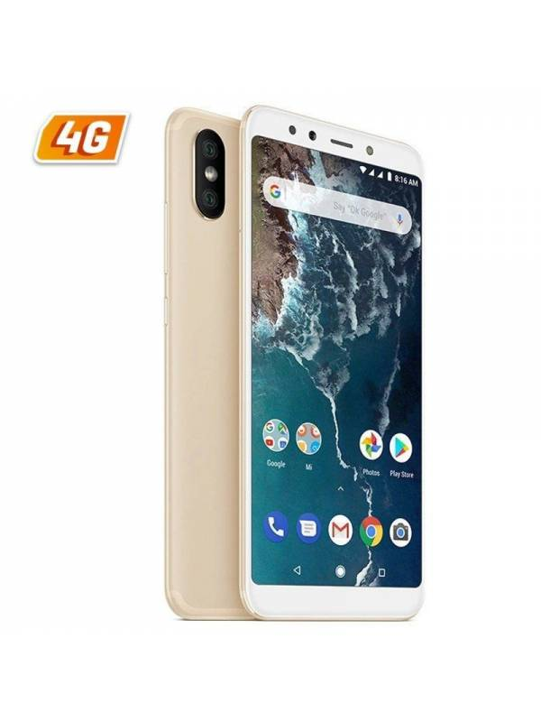SMARTPHONE 5.99 XIAOMI MI A2  4GB 32GB ANDROID ONE GOLD