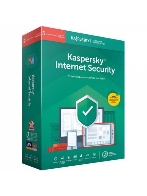 AV IS. 3LC KASPERSKY IS 2019   MULTI-DISPOSITIVOS
