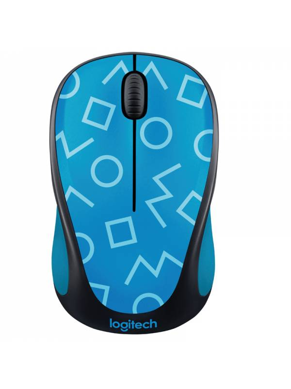 RATON WIRELESS LOGITECH M238    GEO AZUL