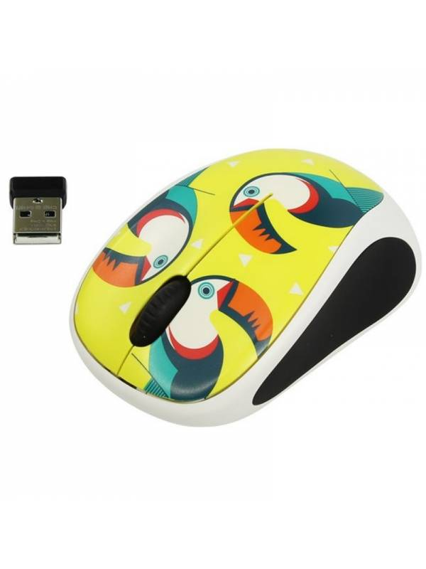 RATON WIRELESS LOGITECH M238   PARTY COLECTION TOUCAN