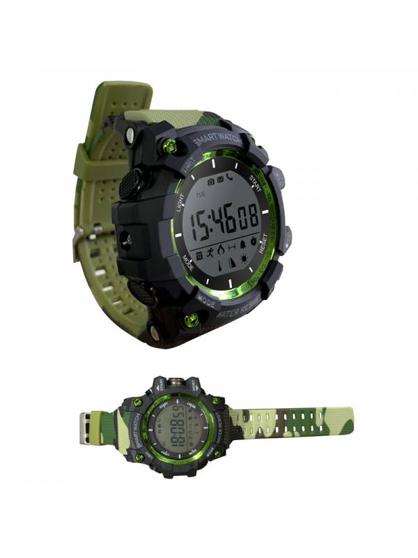 RELOJ SMARTWATCH LEOTEC MOUNTA IN CAMUFLAJE