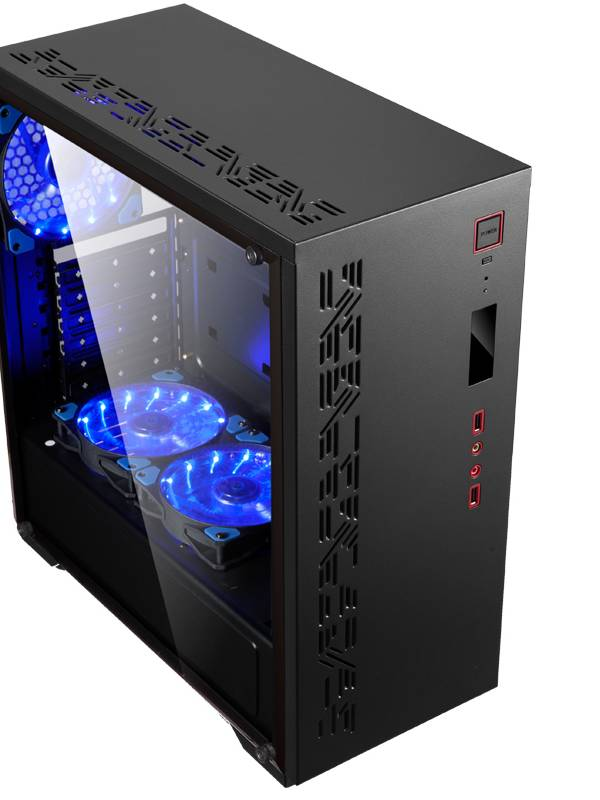 PC GDX GAMING ESE I38181 I3-81 00 8GB 1TB GF1050TI 4GB