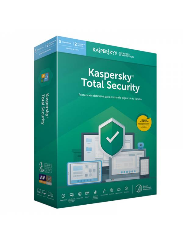 AV IS. 5LC KASPERSKY TOTAL SE  URITY 2019 MULTI-DEVICE