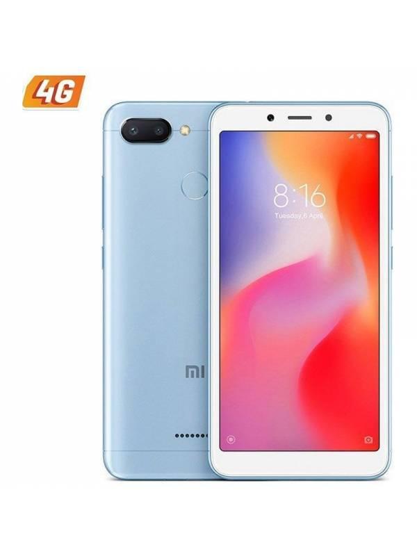 SMARTPHONE 5.45 XIAOMI REDMI  6 4G 3GB 32GB ANDROID 7.1 BLUE