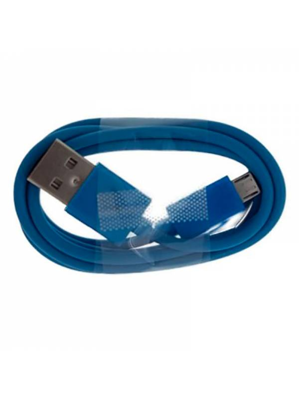 CABLE MICRO USB  1M A USB 2.0A  AZUL